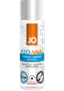 Jo Anal H2o Lube Warming 2oz