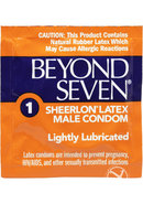 Beyond Seven Condom Ultra Thin12pk(disc)