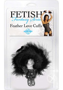 Ff Feather Love Cuffs Black