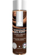 Jo 4oz H2o Flavored Lube Chocolate