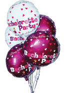 Bachelorette Party Foil Balloons 9pc