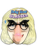 Phony Face Pecker Nose Glasses