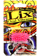 Lix Non Piercing Glow In Dark Pink