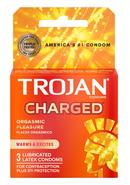 Trojan Intensified Charged 3pk