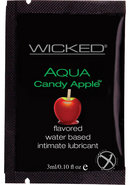 Wicked Aqua Candy Apple Foil 144/bag
