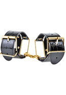 Ff Gold Handcuffs Black