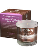 Kissable Massage Candle Choco 4.75floz