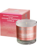 Kissable Massage Candle Vanil 4.75floz