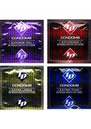 Id Condom 72pc Assorted 3pk