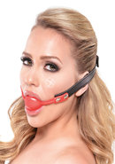Ff Silicone Ball Gag Red