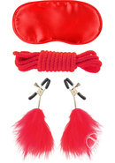 Ffle Lovers Bondage Kit Red