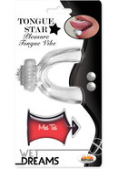 Tongue Star Tongue Vibe W/lube 10ml Clr