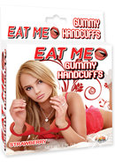 Eat Me Gummy Hand Cuffs Strawberry