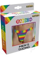 Rainbow Mens Thong