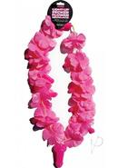 Pink Light Up Flower Pecker Necklace