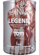 Tof Legend Condoms 100pc Bowl