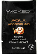 Wicked Aqua Cinnamon Bun Foil 144/bag