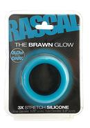 Rascal Brawn Cockring Glow Blue