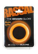 Rascal Brawn Cockring Glow Orange