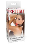 Ff Beginner Ball Gag Red