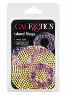 Silicone Island Rings-purple