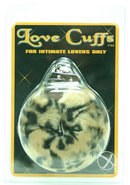 Plush Love Cuffs Leopard