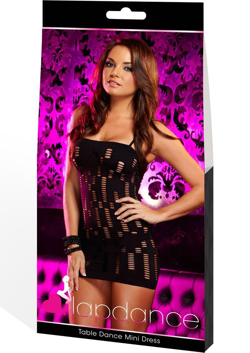 Table Dance Mini Dress