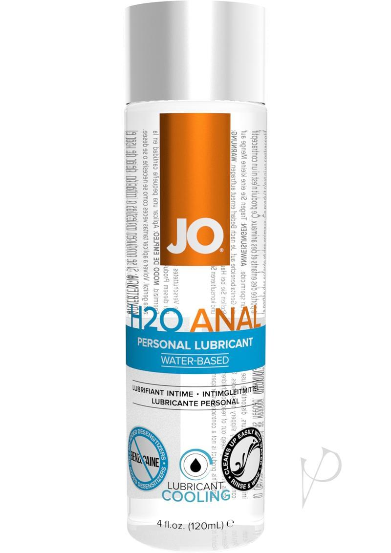 Jo Anal H2o Lube Cooling 4oz
